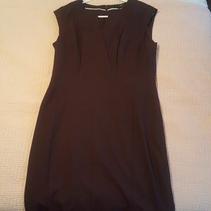 The Limited brown sheath dress NWOT